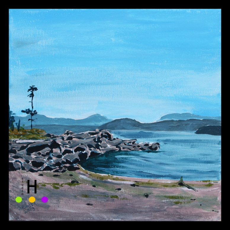 MacKinnon Beach Pender Island 2013 12x12 blog