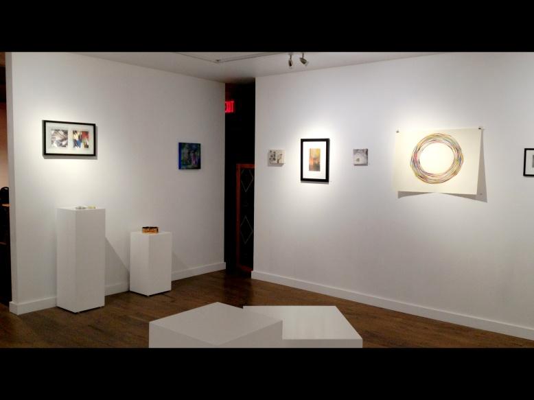 """""""10"""" - art exhibit held at the Harris-Warke Gallery in Red Deer, Alberta, Canada."""