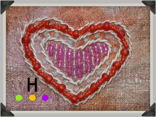 blog beaded heart border