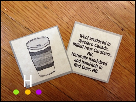 Coffee Sweater Tags