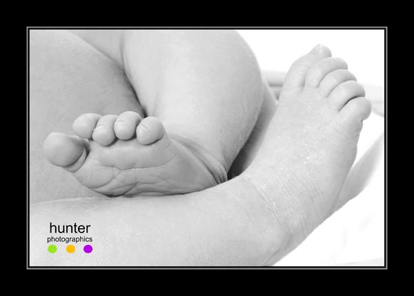 blog baby feet frame