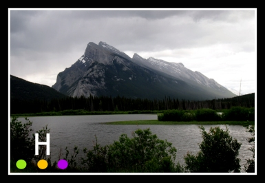 Mt. Rundle near Banff.
