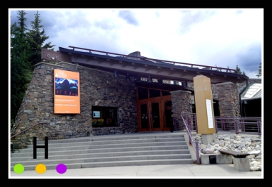 The Whyte Museum in Banff, Alberta, Canada.