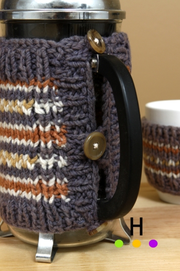 coffee press sweater detail