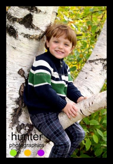 red deer outdoor child portrait