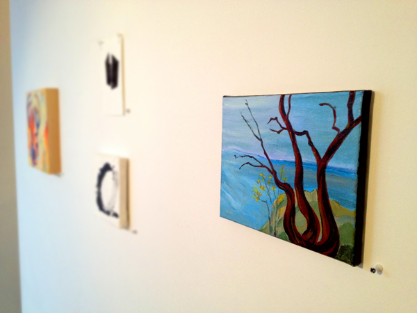 blog painting hanging