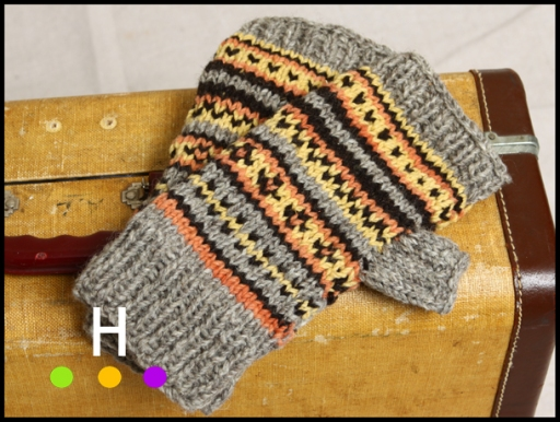 product photography hand knit items red deer