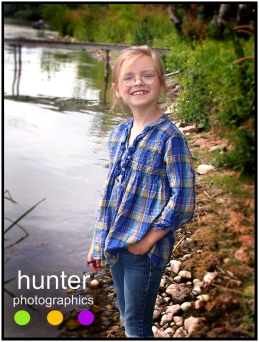 child photographer red deer