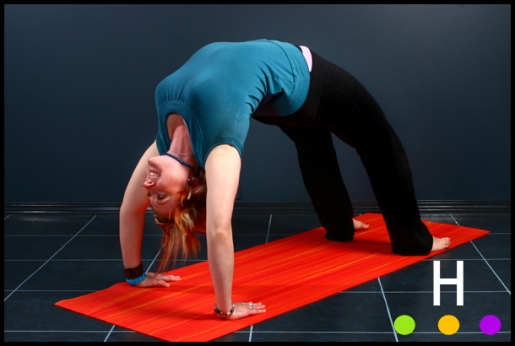 yoga photography red dee