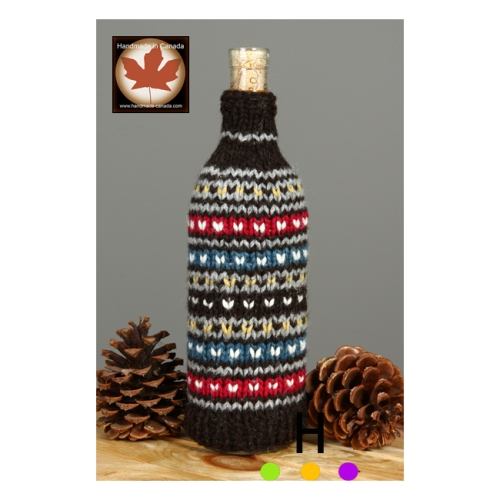 wine wrap handmade canadian gifts