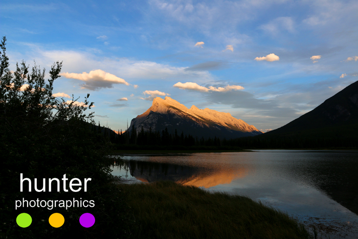 Mt. Rundle, Banff, Alberta, Canada copyright Debra Hunter / Hunter Photographics